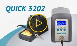 Quick 3202 Lead-Free Soldering Station Video Review