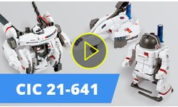 CIC 21-641 Solar Rechargeable Space Fleet 7 in 1 Video Review