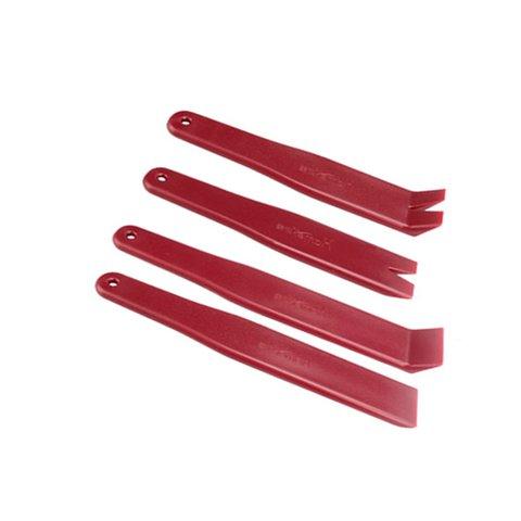 Набір інструментів для знімання обшивки поліуретан, 4 предмети