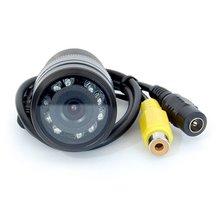 Cámara universal de visión trasera con iluminación GT S618CCD  - Descripción breve
