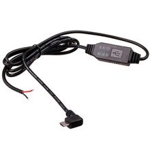 Car Voltage Converter 12 V to 5 V with MicroUSB Connector Right Angle Shaped  - Short description