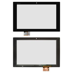 Touchscreen for Sony Xperia Tablet Z Tablet, (black)