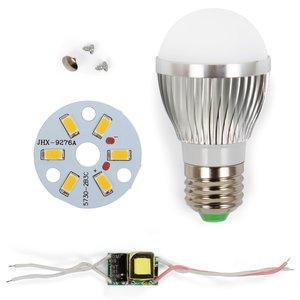 LED Light Bulb DIY Kit SQ-Q01 5730 3 W (warm white, E27)