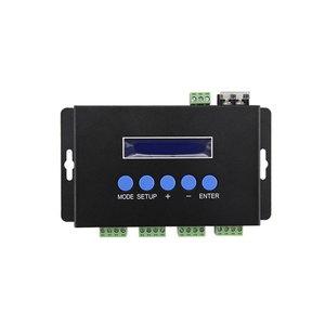 BC-204 Ethernet-SPI/DMX512 Light Controller (4 channels, 680 pxs, 5-24 V)