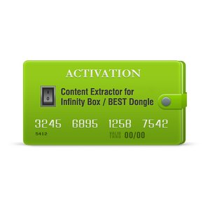 Activación de Content Extractor para Infinity-Box/Dongle, BEST Dongle