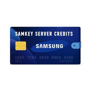 Créditos del servidor Samkey