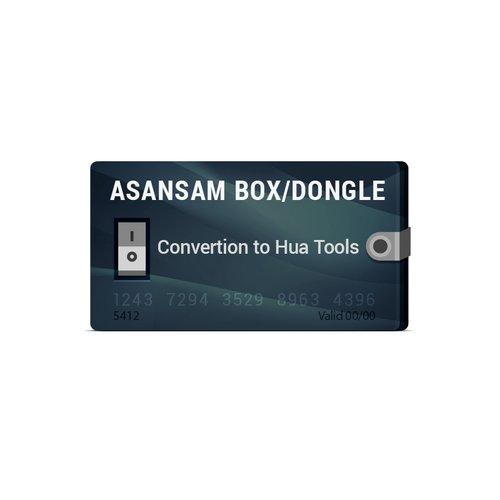 Конвертация Asansam Box/Dongle в Hua Tools  (HUA + HMI + HQT)
