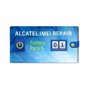 Furious PACK 6 1 Восстановление IMEI для Alcatel
