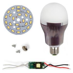 Комплект для сборки светодиодной лампы SQ-Q32 5730 12 Вт (холодный белый, E27)