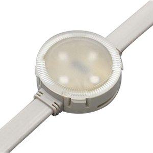Комплект круглых LED-модулей (полноцветные, 4 светодиода SMD3535, 40 мм, IP68, 20 шт.)