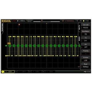 Программное расширение RIGOL SD-RS232-DS6 для декодирования RS232/UART