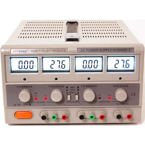 Регульований блок живлення HYelec HY3005D 3