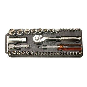 Набір торцевих ключів і біт з тріскачкою Pro'sKit 8PK-227