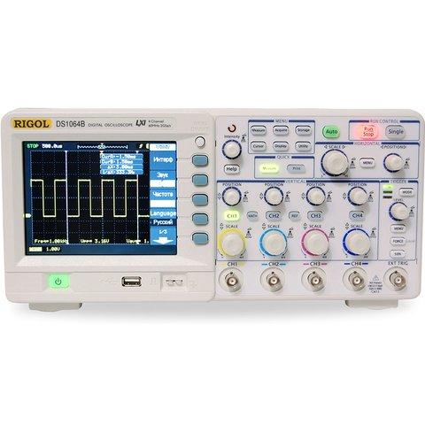 Цифровой 4 канальный осциллограф RIGOL DS1104B