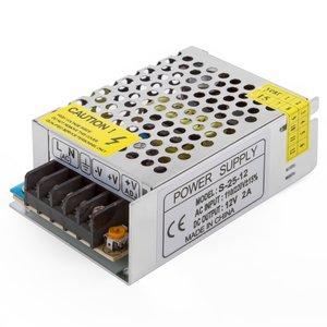Блок живлення для світлодіодних стрічок 12 В, 2 А (25 Вт), 110-220 В