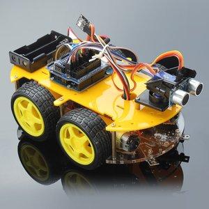 Електронний конструктор Haitronic Робомобіль з Bluetooth-керуванням
