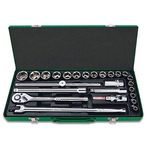 Набір інструментів у кейсі TOPTUL GCAD2514 25 шт.
