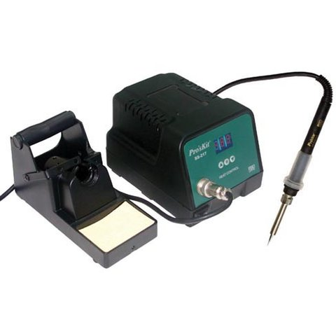 Temperature Controlled Soldering Station Pro'sKit SS 217  AC 110V 220V
